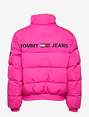 Tommy Jeans - TJW REVERSIBLE LOGO DOWN BOMBER - padded jackets - black iris - 5
