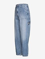 Tommy Jeans - CARGO PANT  NTSLR - straight jeans - 90s light bl rig - 2