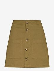 Tommy Jeans - TJW CARPENTER SKIRT - jupes courtes - martini olive - 0