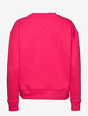 Tommy Jeans - TJW TOMMY BADGE CREW - sweatshirts - blush red - 1