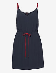Tommy Jeans - TJW ESSENTIAL STRAP - short dresses - twilight navy - 0