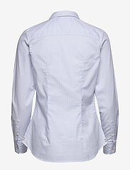 Tommy Jeans - TJW SLIM FIT STRETCH - langærmede skjorter - white / moderate blue - 1