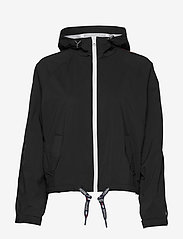 Tommy Jeans - TJW BRANDED SLEEVES WINDBREAKER - vestes legères - black - 1