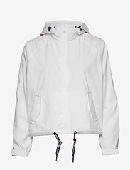 Tommy Jeans - TJW BRANDED SLEEVES WINDBREAKER - vestes legères - white - 1