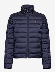 Tommy Jeans - TJW QUILTED ZIP THRU - padded jackets - twilight navy - 1