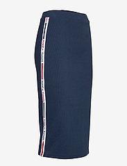 Tommy Jeans - TJW TAPE DETAIL RIB - midi skirts - twilight navy - 3