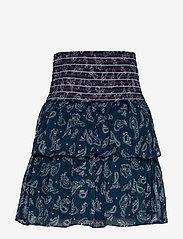 Tommy Jeans - TJW SMOCK DETAIL SKI - jupes courtes - paisley print / twilight navy - 1