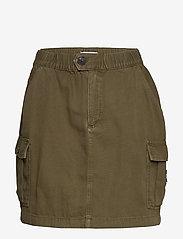 Tommy Jeans - SHORT CARGO SKIRT OL - jupes courtes - olive tree canvas - 0