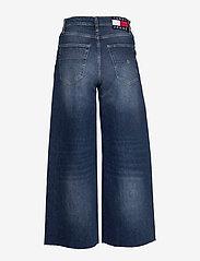 Tommy Jeans - MEG MR WIDE LEG ANKLE CNDBCF - szerokie dżinsy - cony dark blue comfort - 1