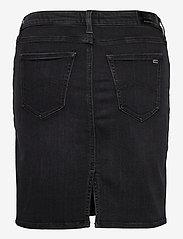 Tommy Jeans - CLASSIC DENIM SKIRT BRBK - jeanskjolar - bird black stretch - 1