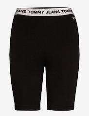 Tommy Jeans - TJW LEGGING SHORT - cycling shorts - black - 0