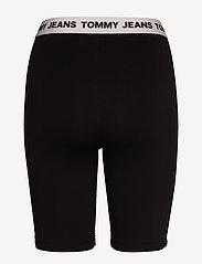 Tommy Jeans - TJW LEGGING SHORT - cycling shorts - black - 1