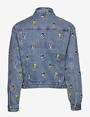 Tommy Jeans - TJW LOONEY TUNES DEN - denim jackets - light blue wash - 1