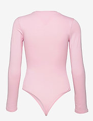 Tommy Jeans - TJW LINEAR LOGO BODY - bodies - romantic pink - 1
