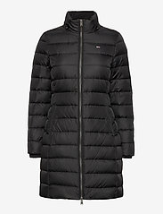 Tommy Jeans - TJW ESSENTIAL HOODED DOWN COAT - padded coats - black - 3