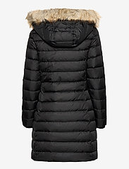 Tommy Jeans - TJW ESSENTIAL HOODED DOWN COAT - padded coats - black - 4