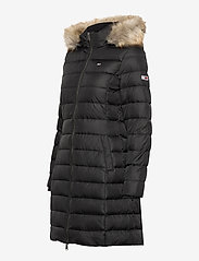 Tommy Jeans - TJW ESSENTIAL HOODED DOWN COAT - padded coats - black - 5
