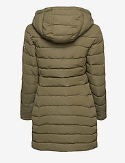 Tommy Jeans - TJW QUILTED DOWN COAT - quilted jackets - olive tree - 3