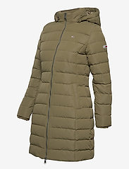 Tommy Jeans - TJW QUILTED DOWN COAT - quilted jackets - olive tree - 4