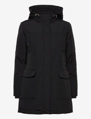 Tommy Jeans - TJW TECHNICAL DOWN PARKA - parka coats - black - 2
