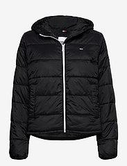 Tommy Jeans - TJW SIDE SLIT JACKET - down- & padded jackets - black - 0