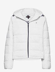 Tommy Jeans - TJW SIDE SLIT JACKET - down- & padded jackets - white - 0