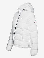 Tommy Jeans - TJW SIDE SLIT JACKET - down- & padded jackets - white - 3