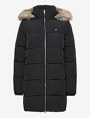 Tommy Jeans - TJW MODERN PUFFA COAT - padded coats - black - 1