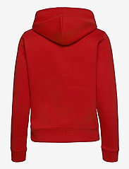 Tommy Jeans - TJW REGULAR FLEECE HOODIE - sweatshirts & hoodies - deep crimson - 1