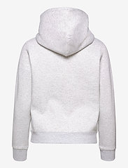 Tommy Jeans - TJW REGULAR FLEECE HOODIE - sweatshirts & hoodies - silver grey htr - 1