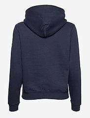 Tommy Jeans - TJW REGULAR FLEECE HOODIE - sweatshirts & hoodies - twilight navy - 1