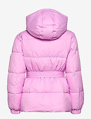 Tommy Jeans - TJW BELTED PUFFER - dun- & vadderade jackor - fresh orchid - 2