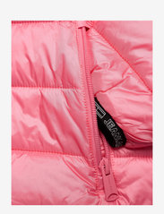 Tommy Jeans - TJW QUILTED TAPE HOODED JACKET - winter jackets - botanical pink - 2