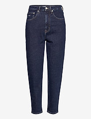Tommy Jeans - MOM JEAN HR TPRD OLDBCF - mom jeans - oslo dark blue com - 0