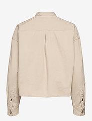 Tommy Jeans - TJW CROPPED UTILITY SHIRT - kläder - sugarcane - 1