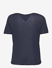 Tommy Jeans - TJW REGULAR SCOOP NECK TEE - t-shirts - twilight navy - 1