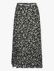 Tommy Jeans - TJW TIERED FLORAL MIDI SKIRT - midi kjolar - floral print - 0