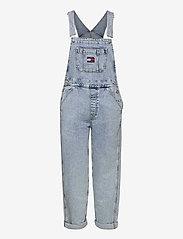 Tommy Jeans - DENIM DUNGAREE TJLLBC - jumpsuits - leon lb com - 0