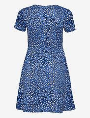 Tommy Jeans - TJW FIT FLARE LEO PRINT DRESS - sommarklänningar - abstract leopard print - 1