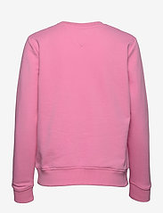 Tommy Jeans - TJW REGULAR ESSENTIAL LOGO - sweatshirts & hoodies - pink daisy - 1