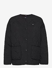 Tommy Jeans - TJW QUILTED LINER JACKET - quiltade jackor - black - 0