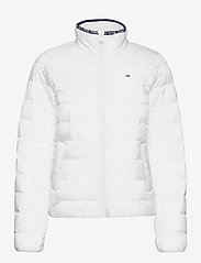 Tommy Jeans - TJW QUILTED ZIP THROUGH - dun- & vadderade jackor - white - 0