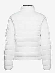 Tommy Jeans - TJW QUILTED ZIP THROUGH - dun- & vadderade jackor - white - 1