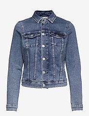 Tommy Jeans - VIVIANNE SLIM DENIM TRUCKER NLBS - jeansjackor - nancy lb str - 0