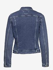 Tommy Jeans - VIVIANNE SLIM DENIM TRUCKER NMBS - jeansjackor - nancy mb str - 1