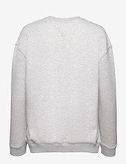 Tommy Jeans - TJW METALLIC TOMMY SWEATSHIRT - sweatshirts & hoodies - silver grey htr - 1