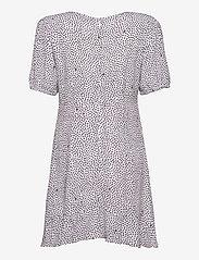 Tommy Jeans - TJW PRINTED BUTTON THRU DRESS - summer dresses - dot print - 1