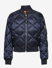 Tommy Jeans - TJW DIAMOND QUILTED BOMBER - twilight navy - 0