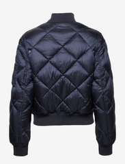 Tommy Jeans - TJW DIAMOND QUILTED BOMBER - twilight navy - 1