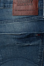 Tommy Jeans - SLIM SCANTON BEMB - slim jeans - berry mid blue comfort - 4